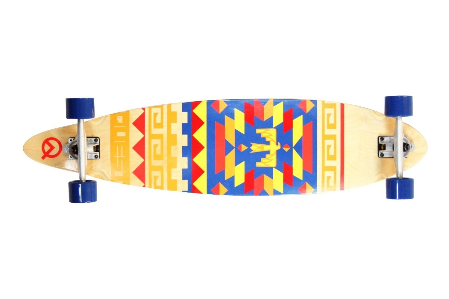 Quest Tribes Pin Kicktail Longboard Review Review Longboards