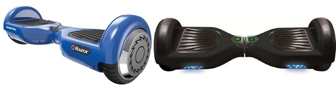 razor hovertrax vs jetson self balancing hoverboard